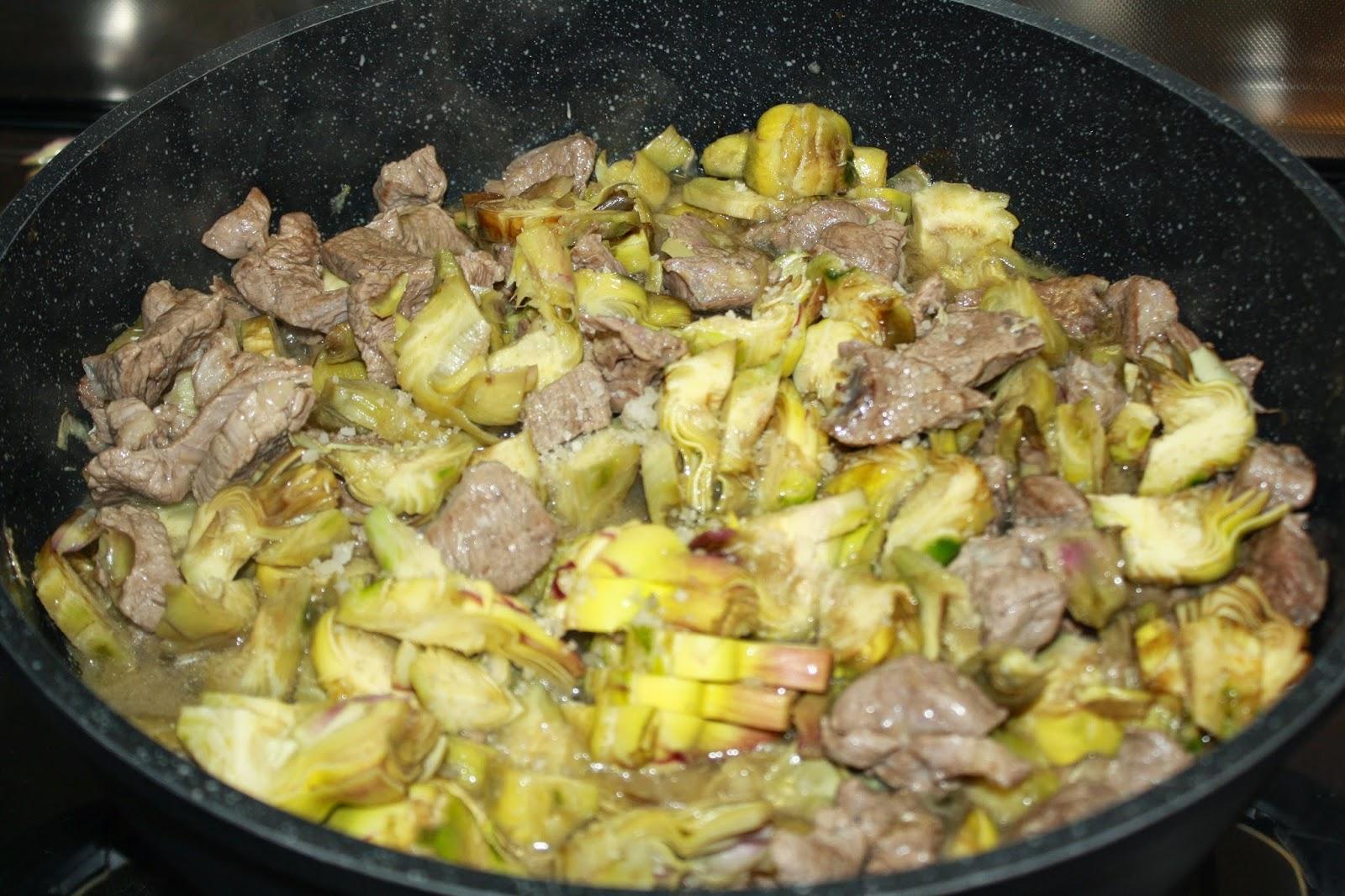 La cuciniera moderna carne con carciofi for Carciofi ricette