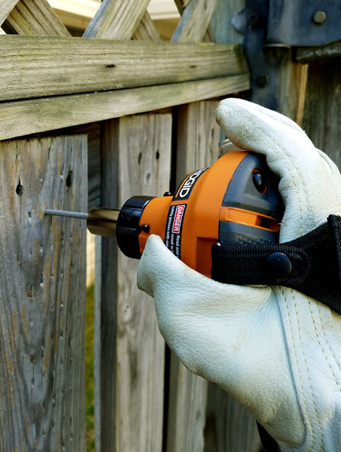 fixing a damage fence