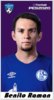 PES 2020 Faces Benito Raman by Shaft