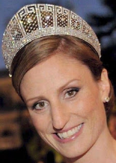 meander tiara prussian crown princess cecilie germany diamond kokoshnik sophie