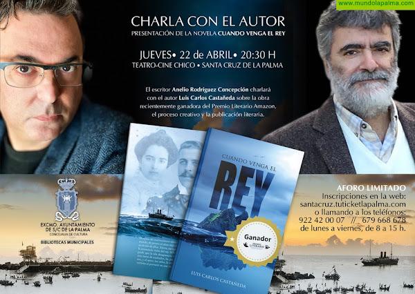 El Teatro Chico acoge la presentación del libro 'Cuando venga el rey'