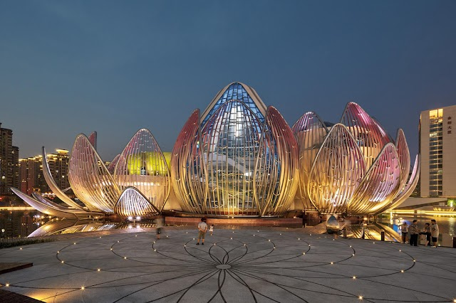 Strange structures in China