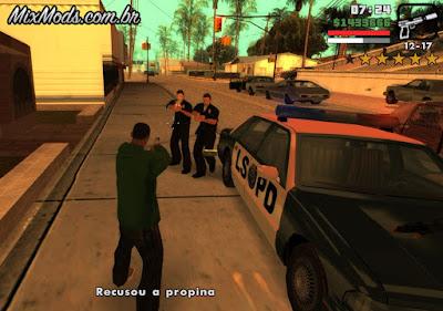 gta sa mod propina para polícia