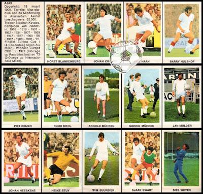 Voetbalsterren Ajax 1972/73