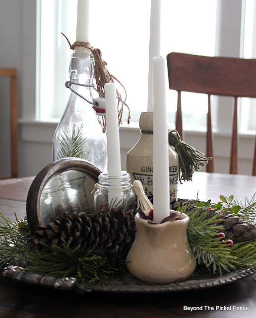 Create a Natural Boho Advent Centerpiece With Found Items