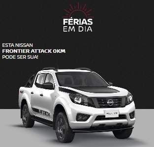 Cadastrar Promoção Nissan Férias em Dia - Concorra Frontier Attack e 120 Headphones