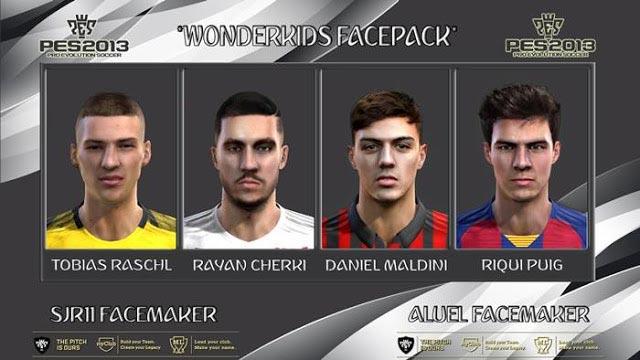 Wonderkid Facepack April 2020 PES 2013