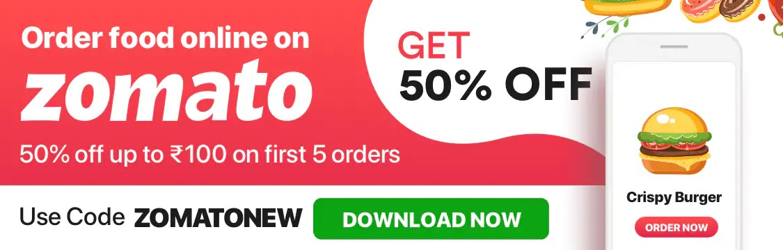 zomato today exclusive offers,zomato offers today  zomato coupons for existing users today  zomato offers 50 off  zomato promo code for existing user  freecharge zomato offer  swiggy offers  zomato order  zomato promo code 50 off