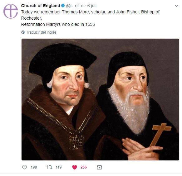 Santo Tomás Moro y San Juan Fisher