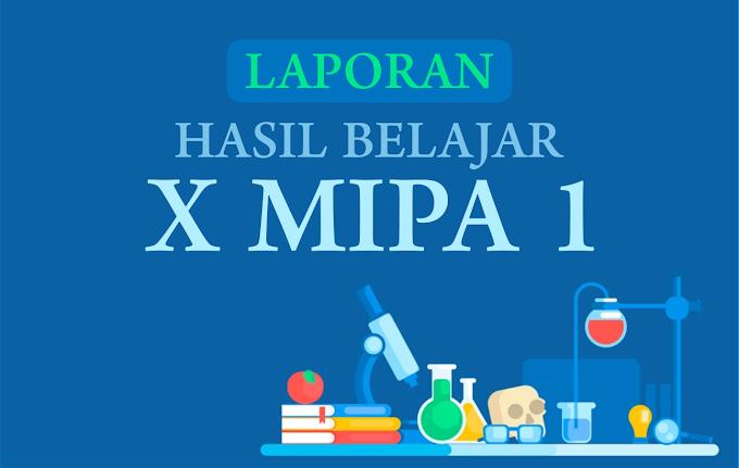 RAPOR X MIPA 1
