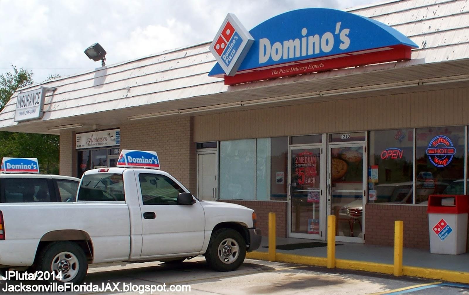 jacksonville florida jax beach restaurant attorney bank hospital domino s pizza orange park florida blanding blvd jax