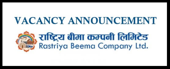 Jobs at Rastriya Beema Company for IT & Health Assistant