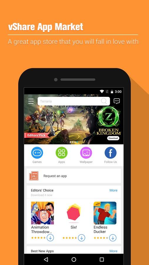 vShare App Market APK Latest v1.0.0.5006 Free Download For ...