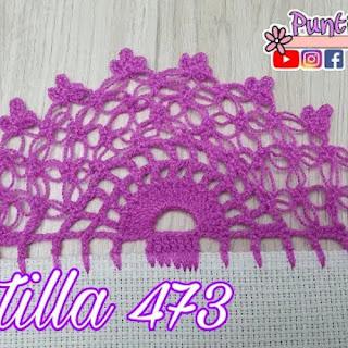 Puntilla 473 a crochet