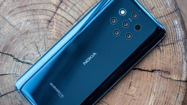 Nokia keluarkan hp 5 kamera