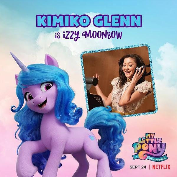 Izzy Moonbow My Little Pony - A New Generation Kimiko Glenn