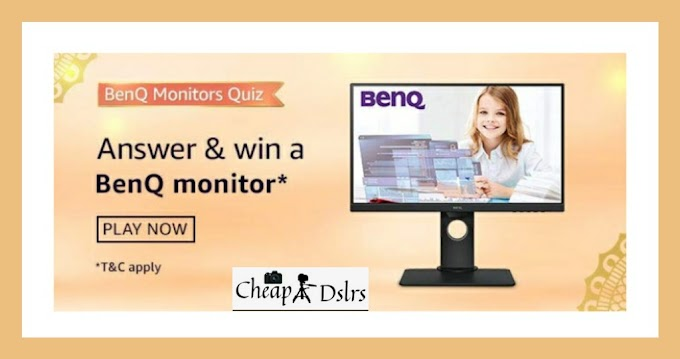 Amazon BenQ Monitors Quiz Answers Win – BenQ Monitor