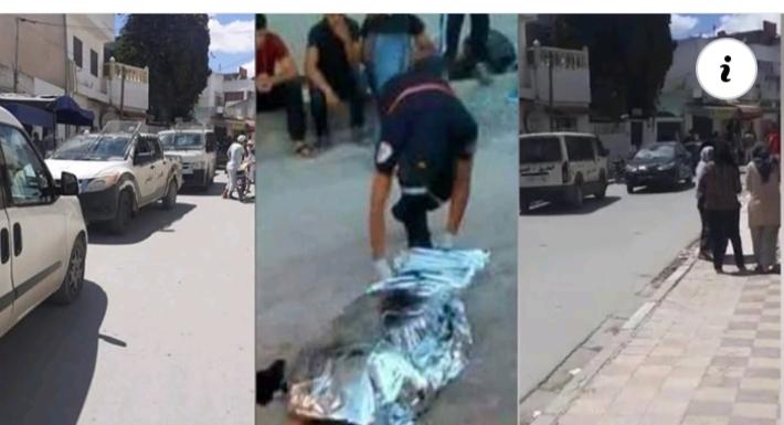 (بالفيديو) حي التضامن⭕ جريمة قتـ ـل بشعة في شارع 106... رجل يقتل زوجته... و قام بدفنها في المنزل امام اطفاله
