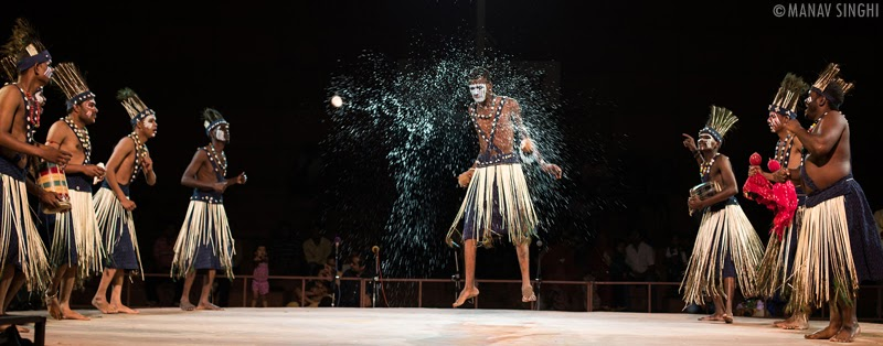 Sidi Goma Dhamal Folk Dance Gujarat