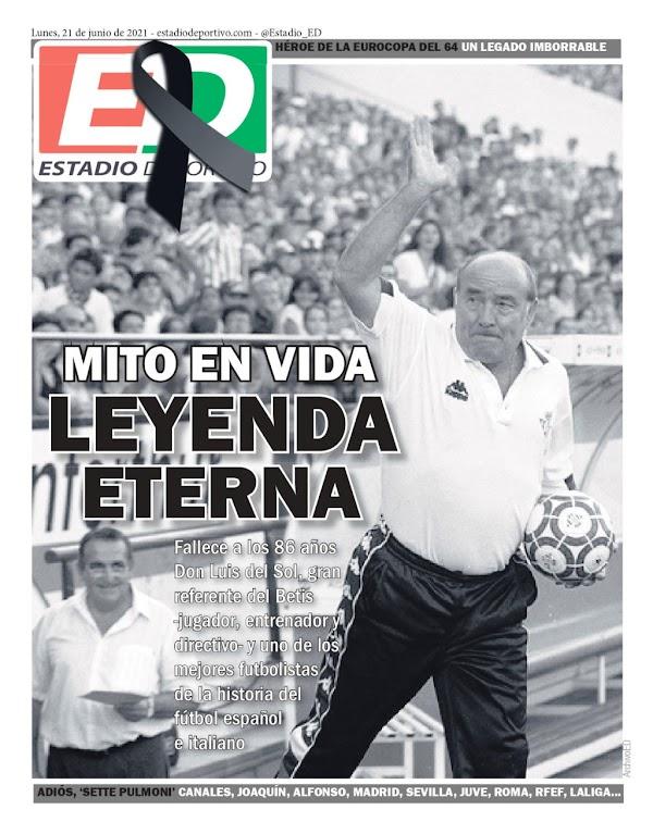 """Betis, Estadio Deportivo: """"Mito en vida, Leyenda eterna"""""""