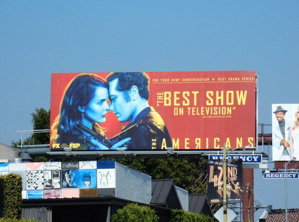 Americans Best show on TV 2016 Emmy billboard