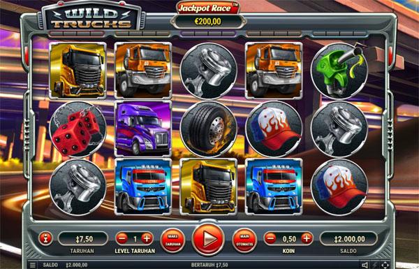 Main Gratis Slot Indonesia - Wild Trucks Habanero