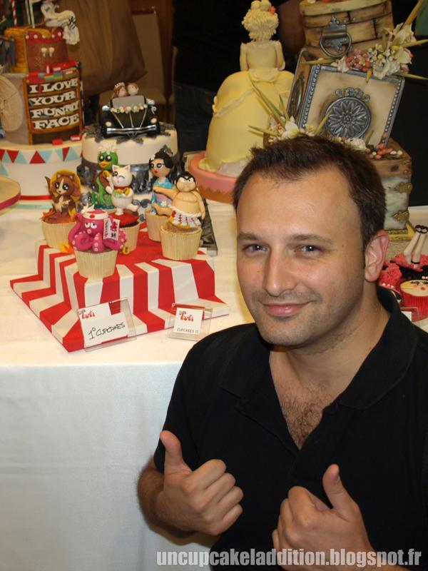 Expo Tarta 2013 :  le Premier Prix Cupcakes est pour Sébastien !