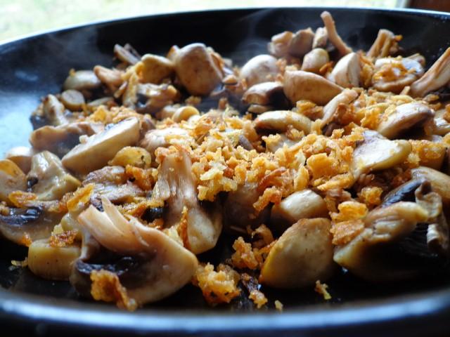 Add the crispy fried onion