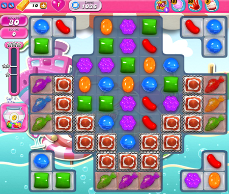 Candy Crush Saga 1036