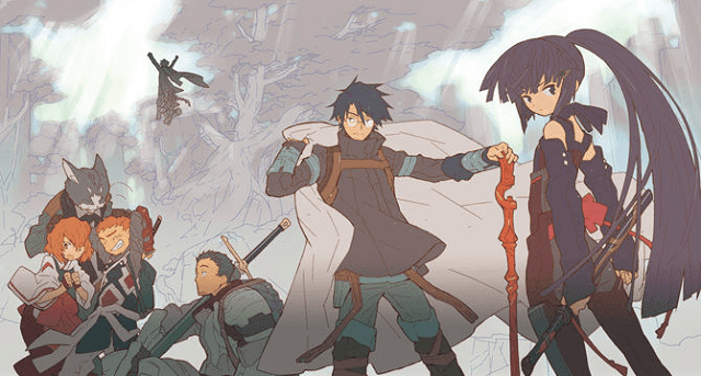 log horizon dibentuk shiroe dalam game elder tales