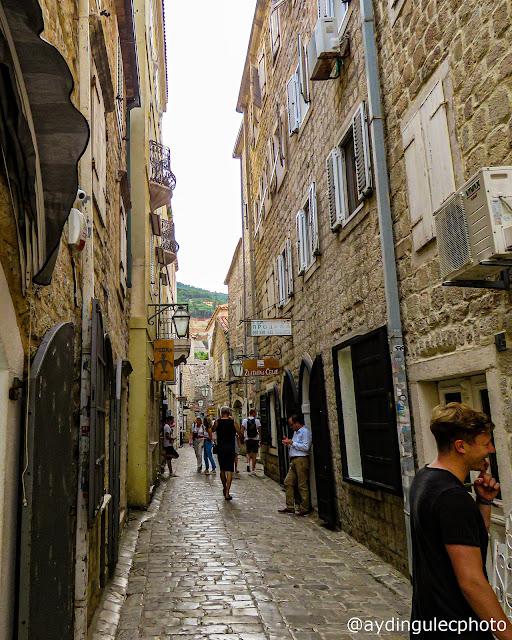 Streets of Budva Old Ciy IV