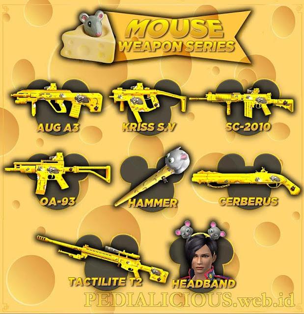Harga & Statistik Seri Mouse Senjata Point Blank