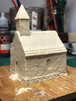 10mm Small Stone Chapel
