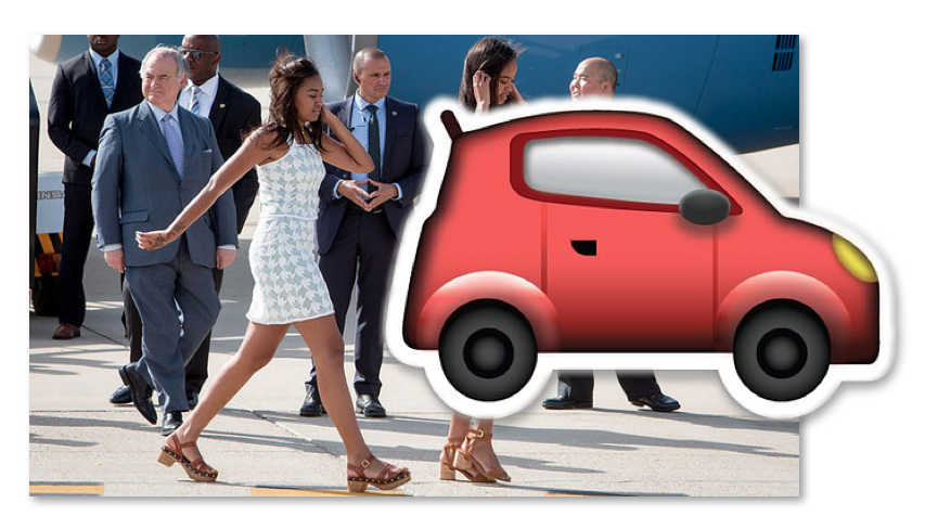 What Kind Of Car Does Sasha Obama Drive New Empire Bbk