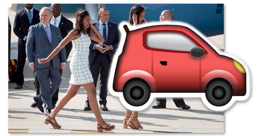 What Kind Of Car Does Sasha Obama Drive