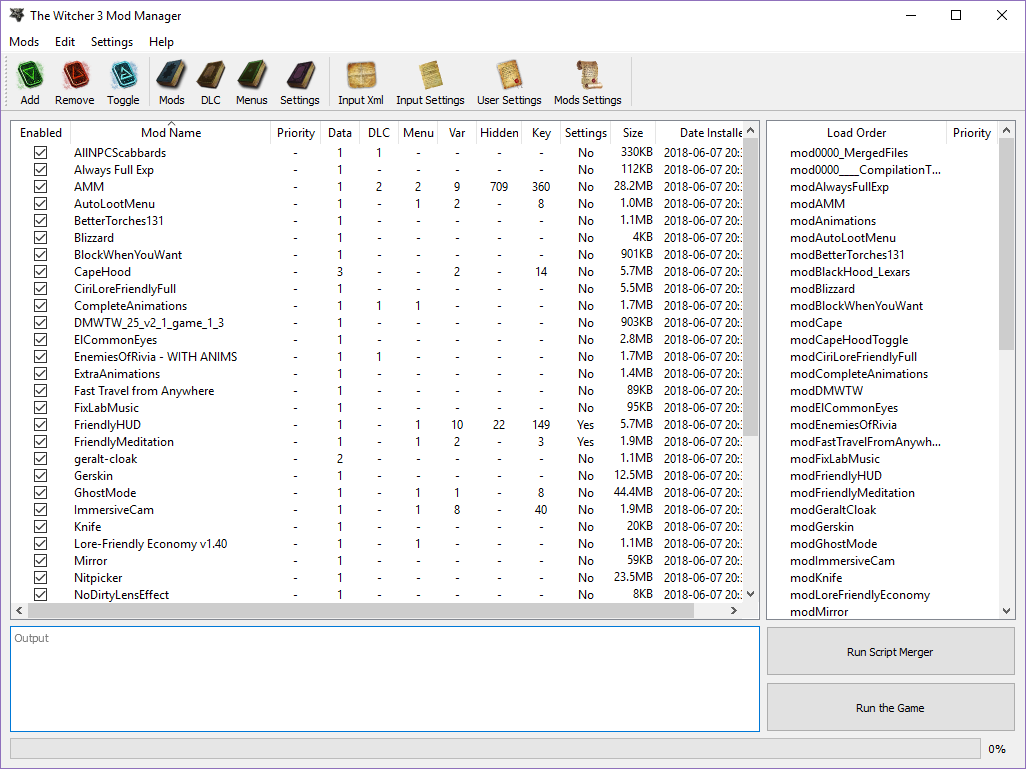The Witcher 3: Wild Hunt - Complete Edition: The Witcher 3 Mod Manager - mod manager