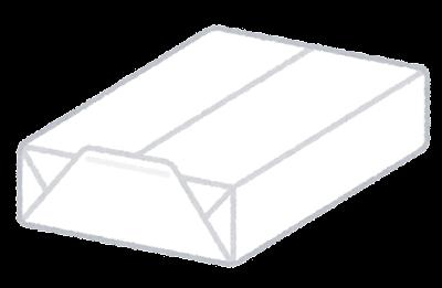 プリント用紙のイラスト(白)