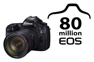 Canon Celebrates Production Of 80 Millionth EOS-Series Camera