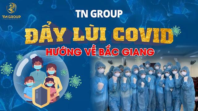 Thảo Nhi - TnGroup cùng các mạnh thường quân ủng hộ Bắc Giang Chống dịch