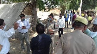 थाना रेंढर में महिला की रिपोर्ट पॉजिटिव आने पर जिलाधिकारी ने दिए आवश्यक दिशा निर्देश          संवाददाता, Journalist Anil Prabhakar.                 www.upviral24.in