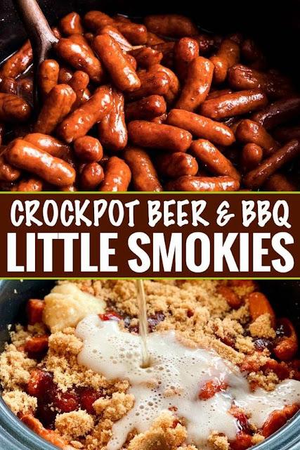 CROCKPOT BBQ BEER LITTLE SMOKIES