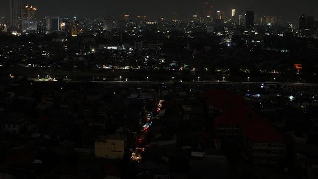 Pemadaman Listrik Terbesar di Indonesia