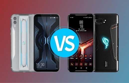 Duel Smartphone Gaming Paling Ngebut, Black Shark 2 Pro vs Asus ROG Phone 2