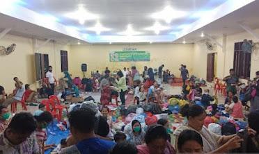 Bantuan untuk Korban Banjir di Deli Serdang Terus Berdatangan