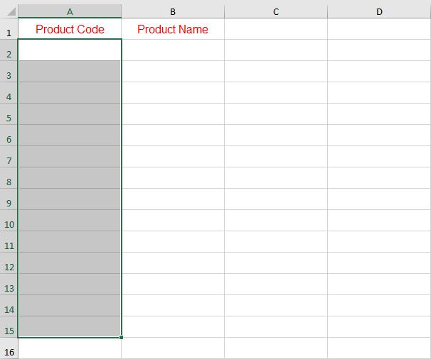 اجبار المستخدم على ادخال البيانات وفقا لشروط معينة في برنامج Excel
