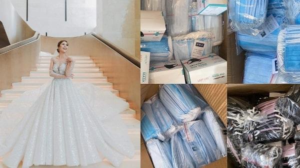 Tinjoy Agcopra-Gutierrez sold her designer wedding gown
