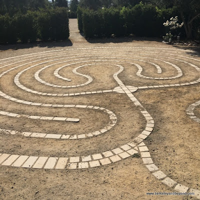 labyrinth at Allegretto Vineyard Resort in Paso Robles, California
