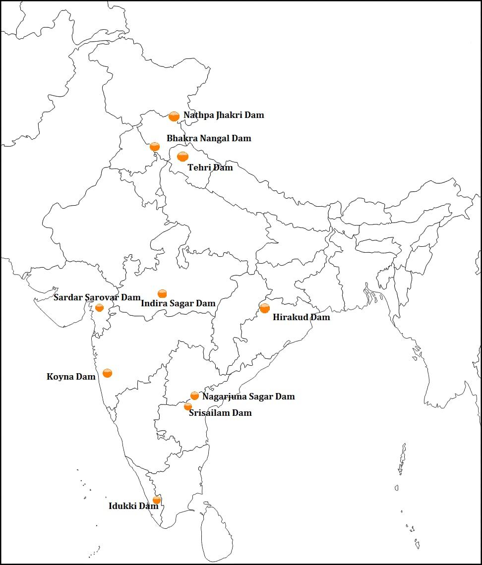 Bharat Ke Pramukh Bandh