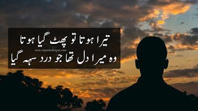 Two Lines Heart Touching Shayari in Urdu