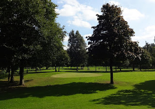 The Pitch and Putt course at Walton Hall and Gardens in Warrington